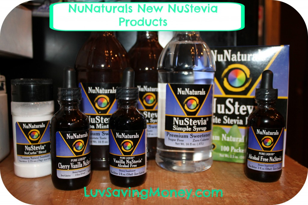 NuNaturals New products