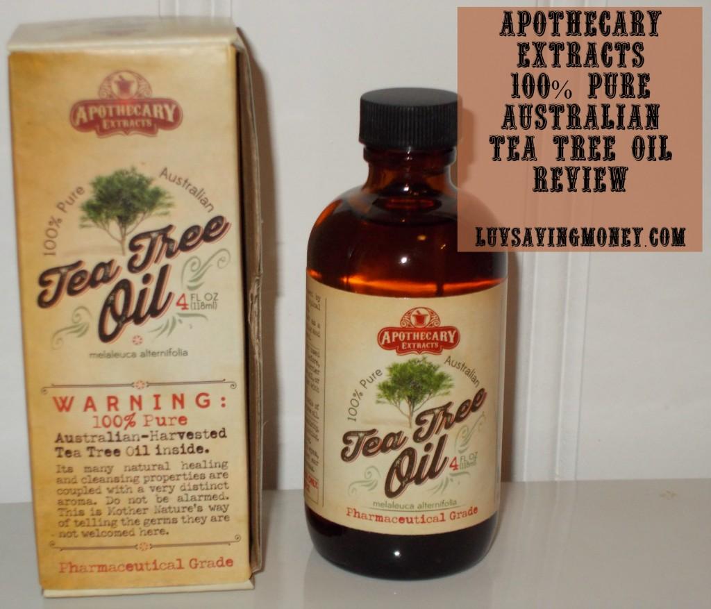 apothecary tea tree oil