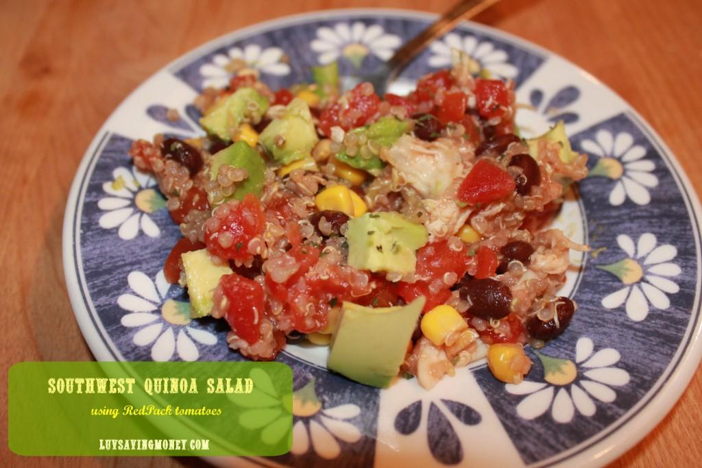 RedPack Southwest Quinoa Salad