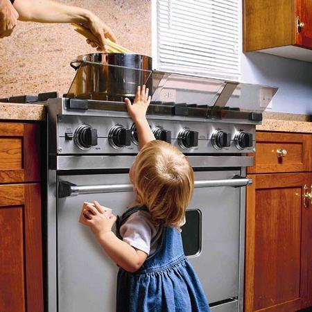 plastic stove guard