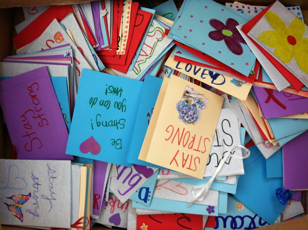 Girls Love Mail cards in box