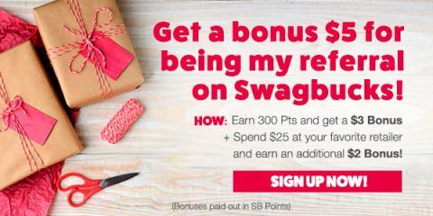 swagbucks-5-bonus