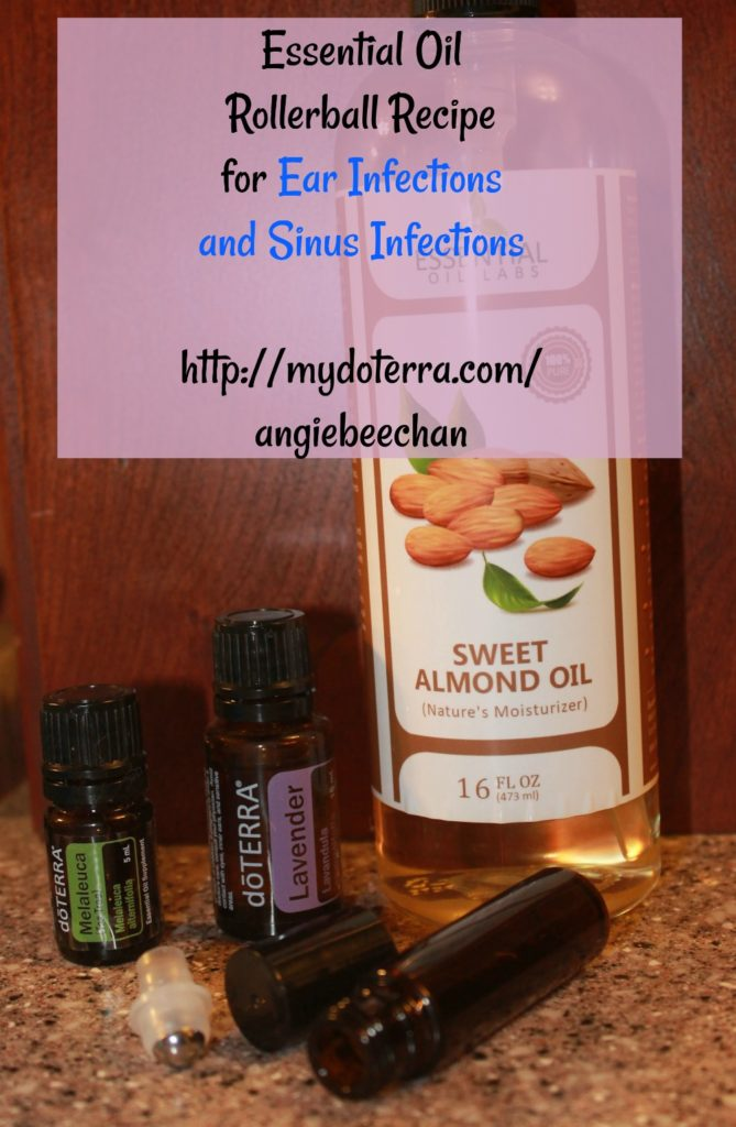 Essential Oil Rollerball Recipe For Ear Infections And Sinus Infections And How To Luv Saving Money