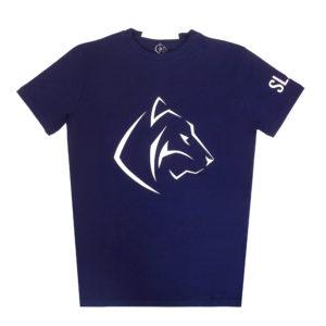 Lacivert Performance T-Shirt düz