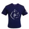 Lacivert Performance T-Shirt düz 3d