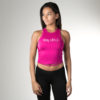 slay athletics kadin crop top