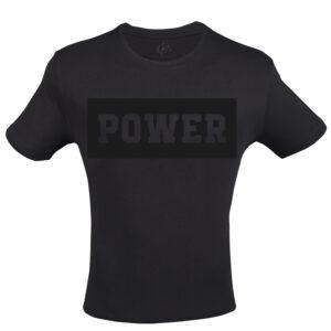 siyah fitness t-shirt