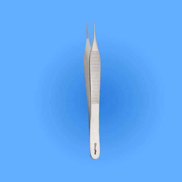 Photo - Image of Surgical Adson Dressing Forceps, SPDT-140, provided courtesy of Surgipro.com.