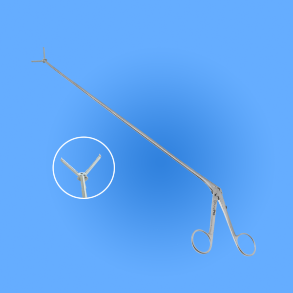Surgical Bronchoscopic Forceps Serrated Grasping Jaws