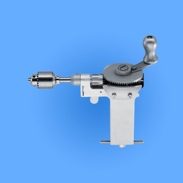 Photo of Surgical Bunnell Hand Drill, SPOH-035, provided courtesy of Surgipro.com.