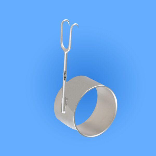 Surgical Cottle Thimble Hook Retractor