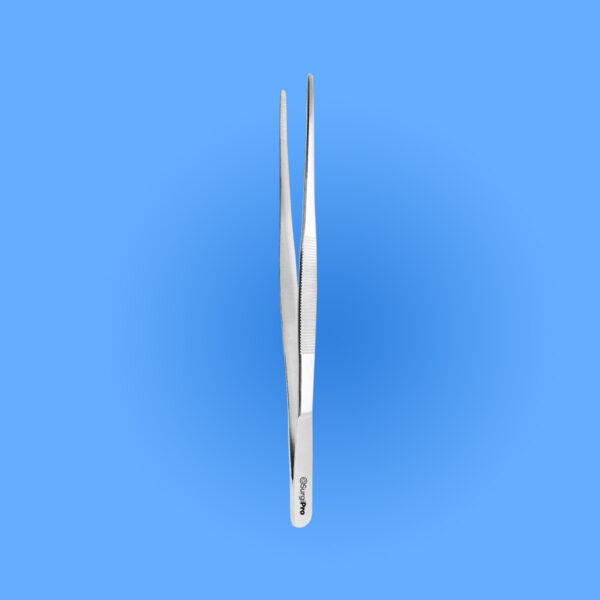 Surgical Dressing Forceps Serrated Tips SPDT 012