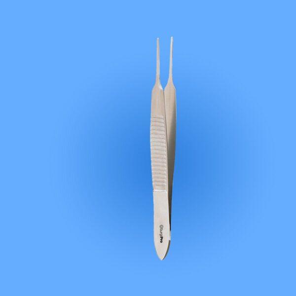 Photo - Image of Surgical Graefe Eye Dressing Forceps, SPDT-102, provided courtesy of Surgipro.com.