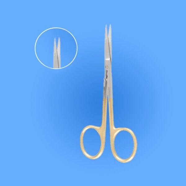 Surgical Iris Scissors - Tungsten Carbide