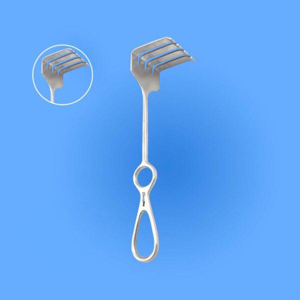 Surgical Israel Rake Retractor