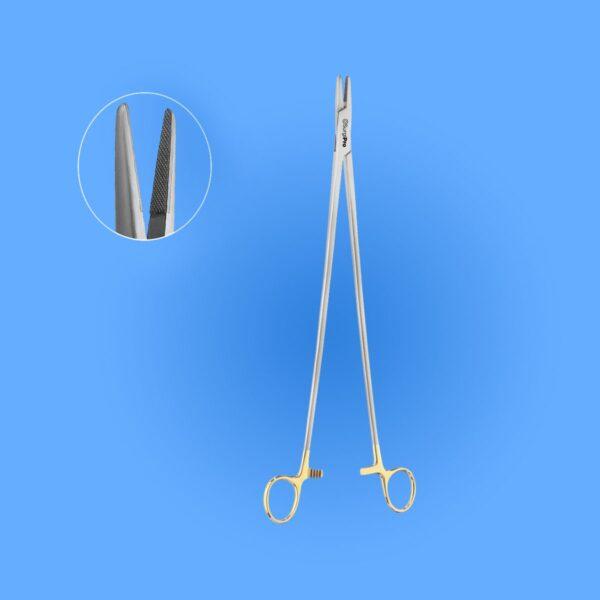 Surgical Obese Nolan Needle Holder Tungsten Carbide,