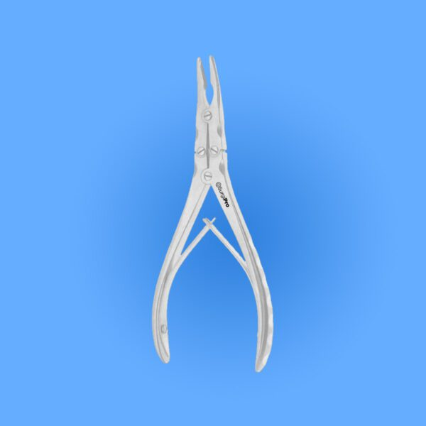 Surgical Ruskin Rongeur, Curved Jaws