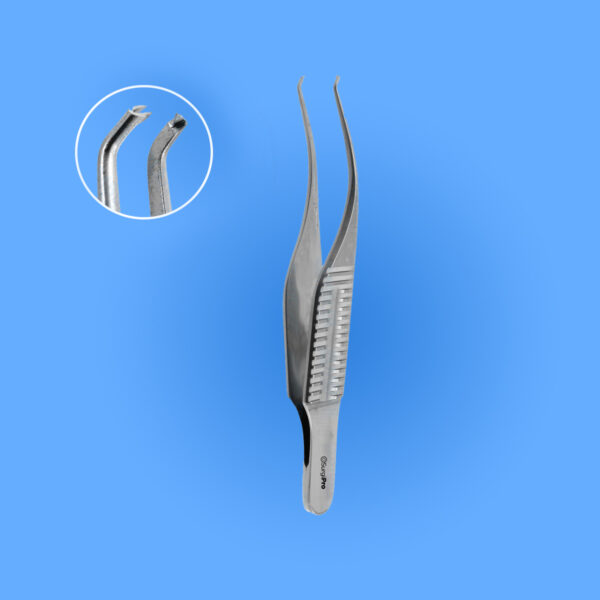 Surgical Troutman-Barraquer Colibri Type Corneal Utility Forceps