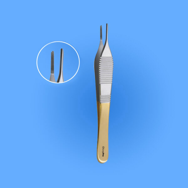 Surgical Adson Dressing Forceps - Tungsten Carbide