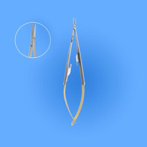 Surgical Castroviejo Needle Holder - Tungsten Carbide