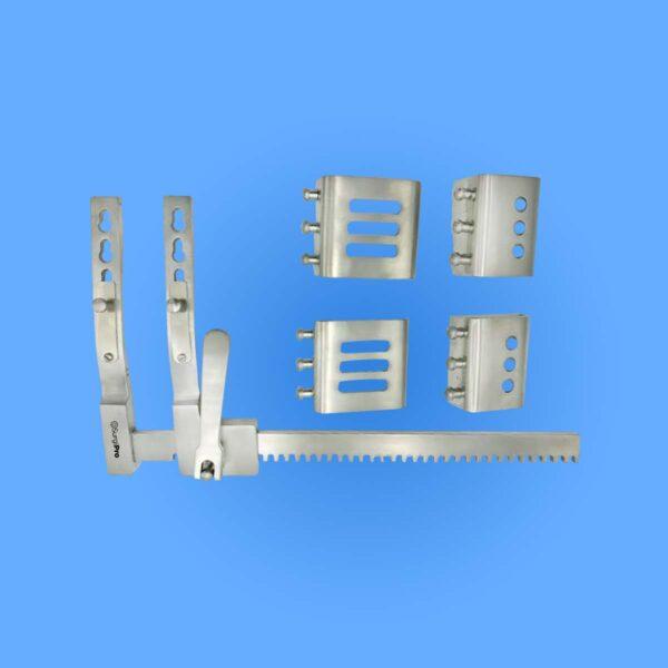 Surgical Burford-Finochietto Rib Spreaders, Light Weight Aluminum