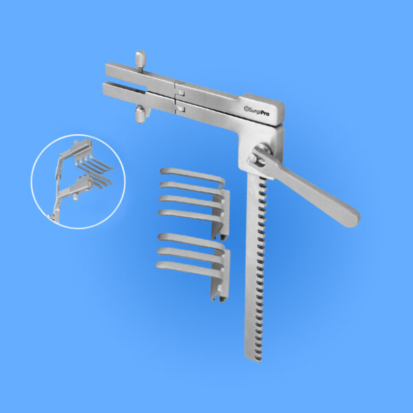 Surgical Frazier Laminectomy Retractor