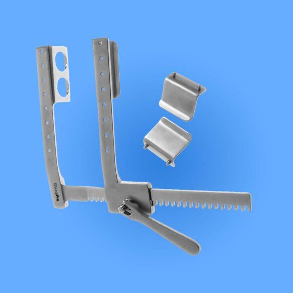 Surgical Harken Rib Spreaders and Scapula Retractors
