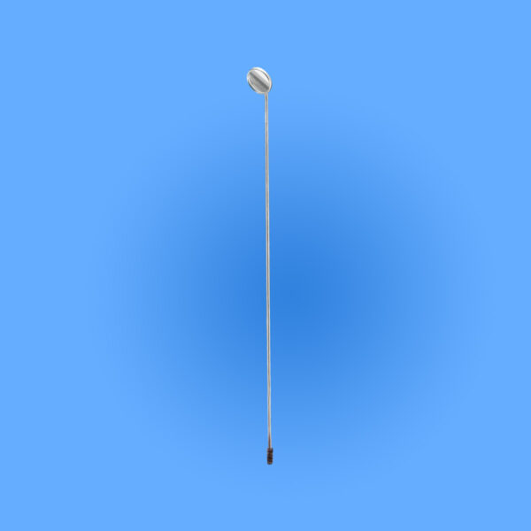 Surgical Laryngeal Mirrors, Mirror Only with Threaded Stem