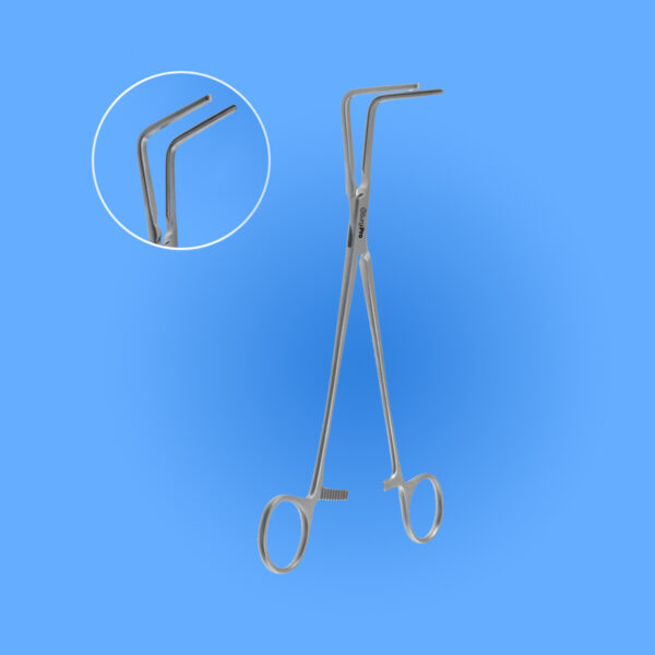 Surgical Lee Right Angle Bronchus and General Purpose Vascular Clamp