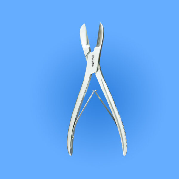 Surgical Liston Bone Cutting Forceps, Angled on Flat