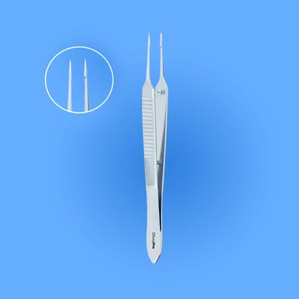 Surgical Mcpherson Micro Iris Suturing Forceps