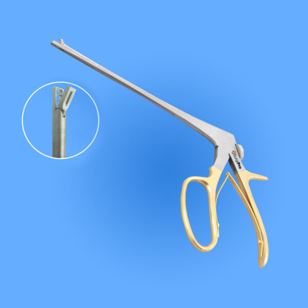 Photo - Image of Surgical Yeoman Biopsy Forceps with Rotating Shaft, SPRI-028, provided courtesy of Surgipro.com.