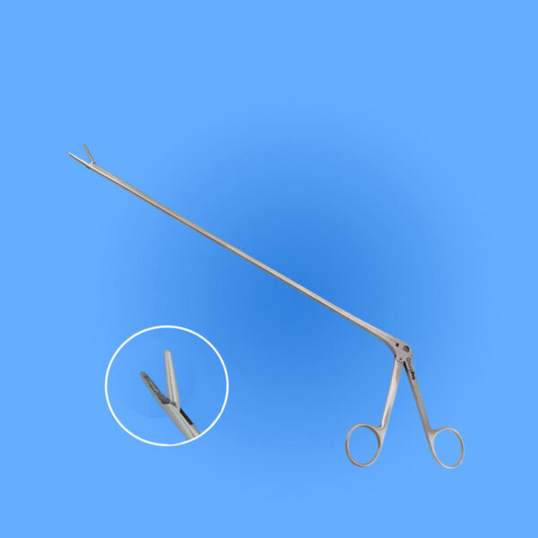 Surgical Bronchoscopic Forceps Serrated Jaws