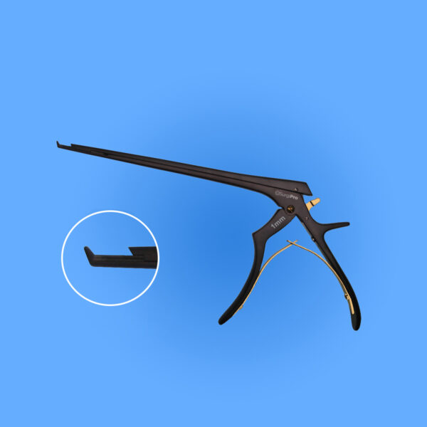 """Kerrison EZ Clean Detachable Ceramic Rongeur 7"""" (17.8 cm) shaft"""