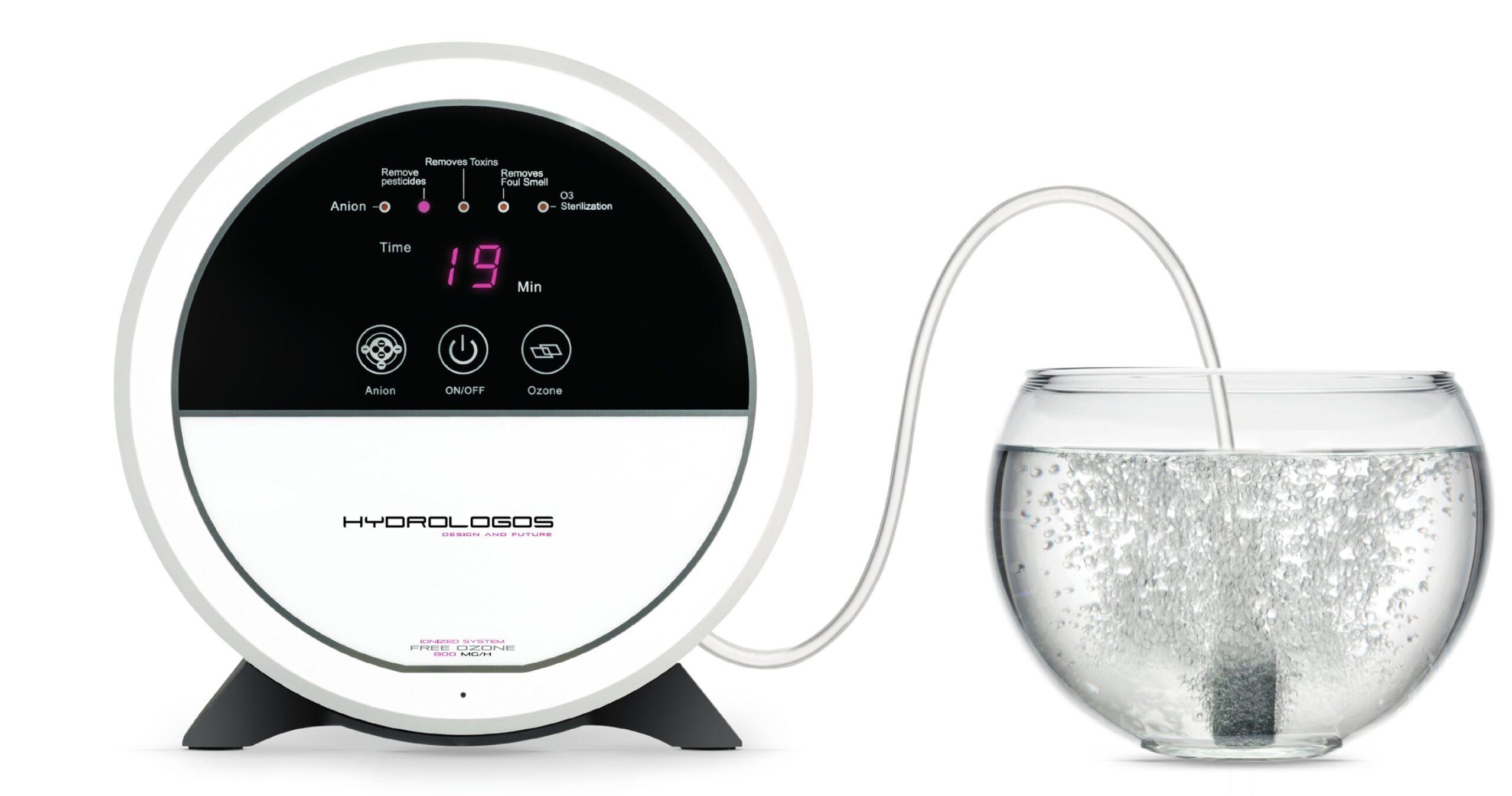 Generador de ozono para agua, aire, iones negativos e hidroxilo.