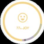 77% Joy Infographic