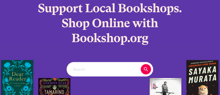 Bookshop.org Screenshot - alternative browsers