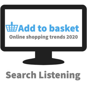 Add to basket. Online shopping trends 2020. Search Listening