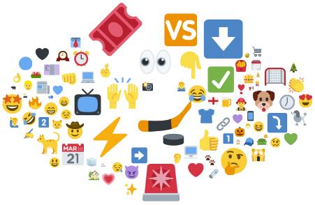 Digital Research: Emoji cloud