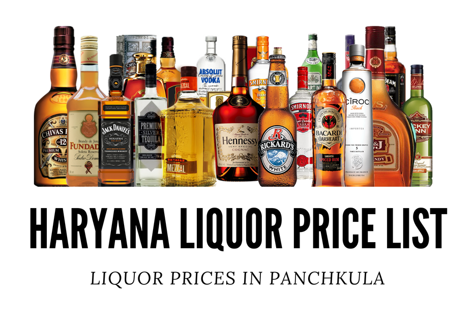 Haryana Liquor Price List