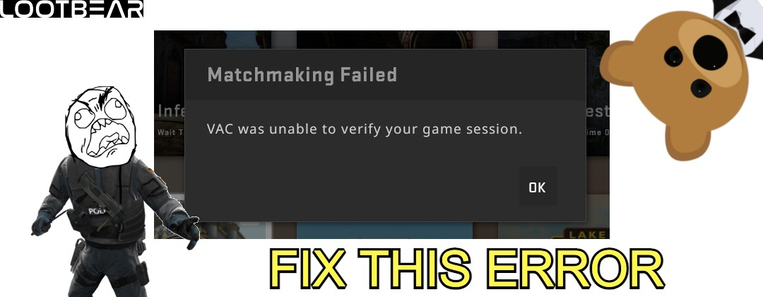vac unable to verify your game session fix