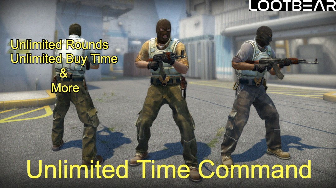 Unlimited Time Command csgo