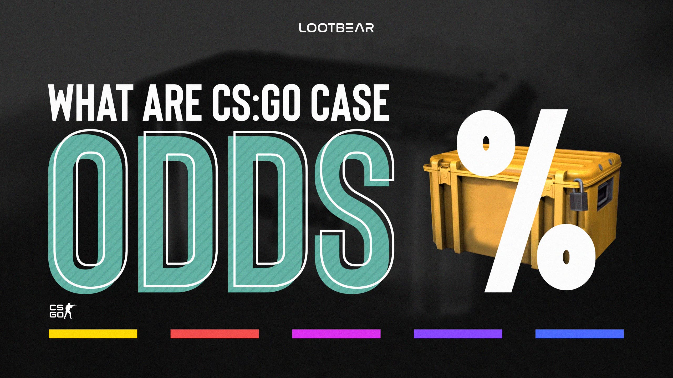 what are csgo case odds