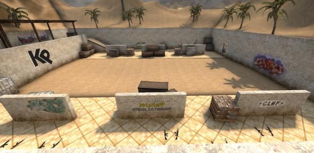 Aim – 1v1 - Sandarena CSGO Map