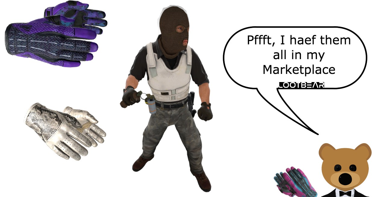 most expensive csgo gloves