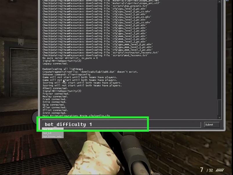 csgo bot commands