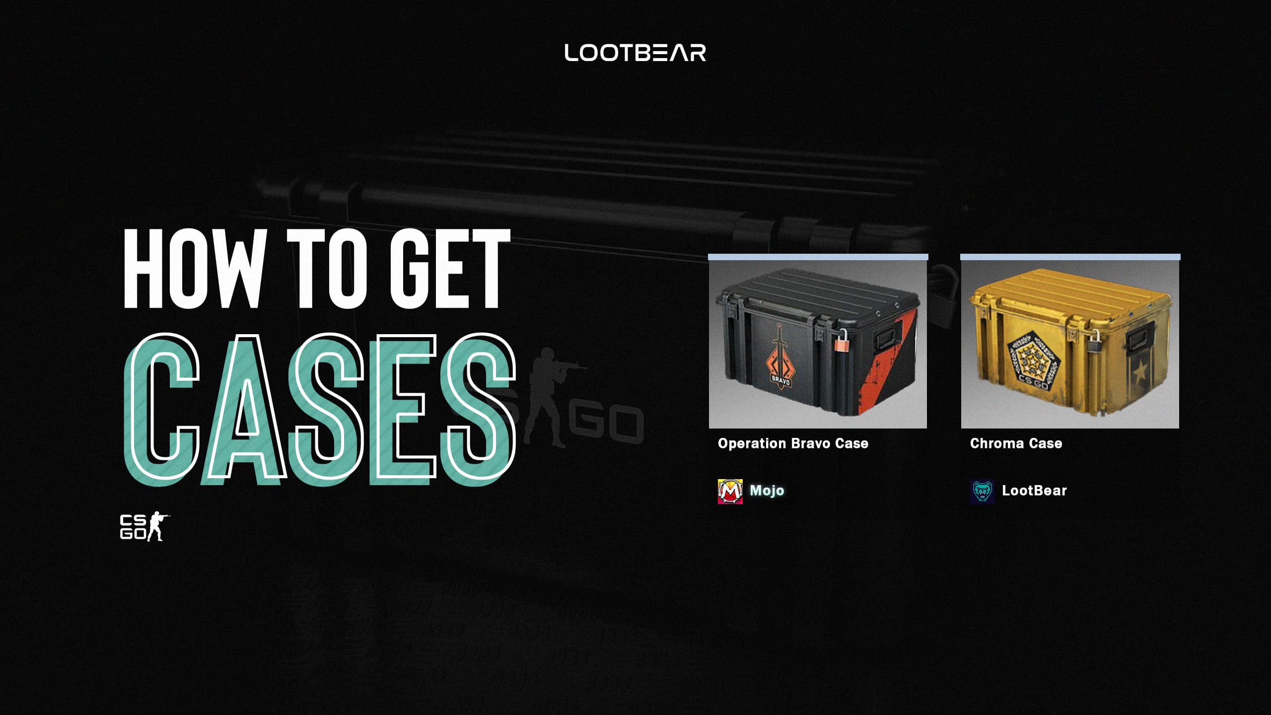 how to get cases in csgo