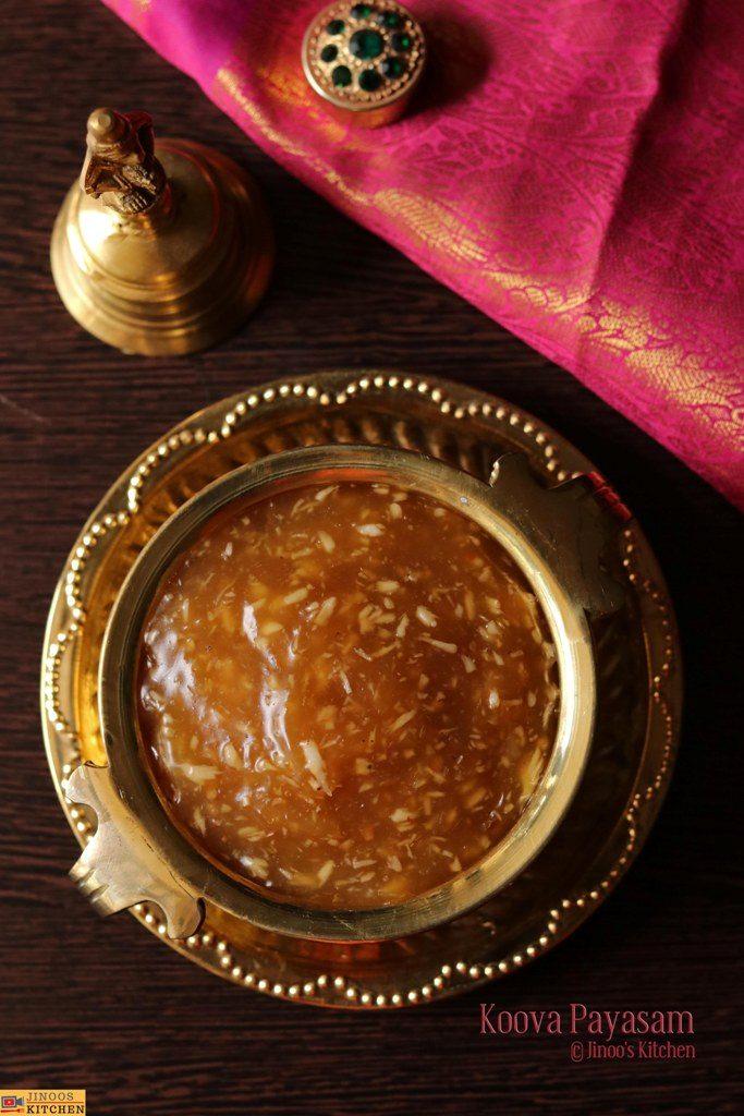 Koova payasam recipe