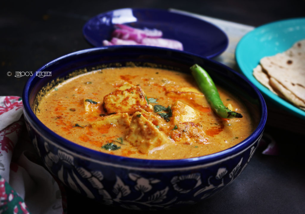 Creamy Paneer masala