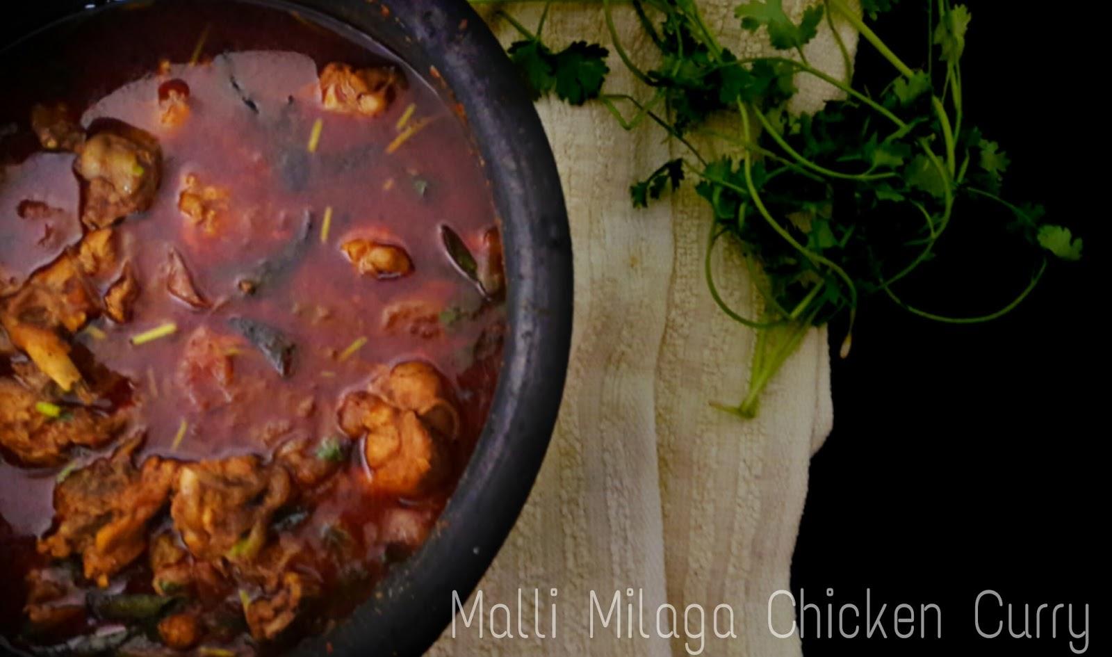 Chicken malli kuzhambu